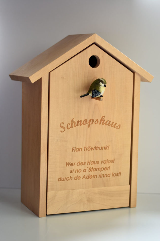 Schnopshaus fian tröwitrunk