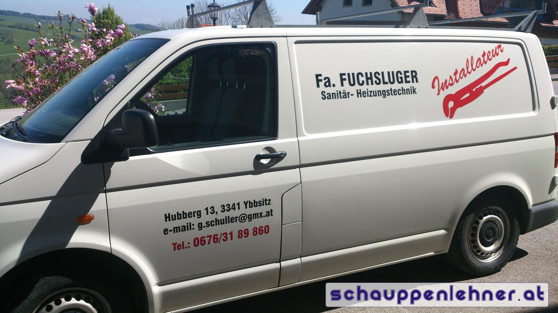 Firmenbus Fuchsluger