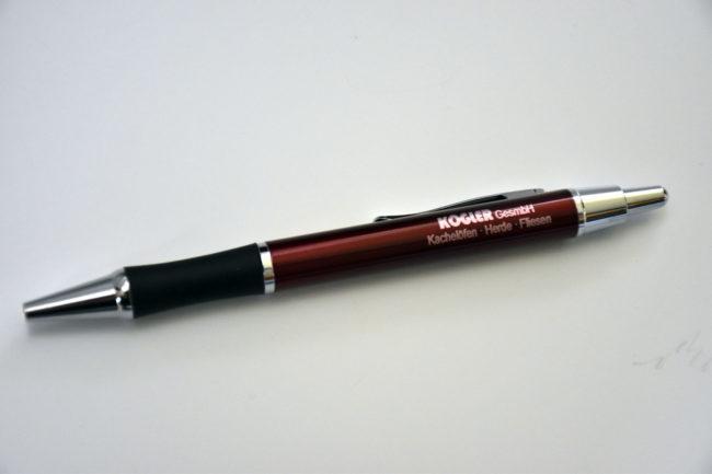 Gravierter Kugelschreiber für die Kogler GesmbH