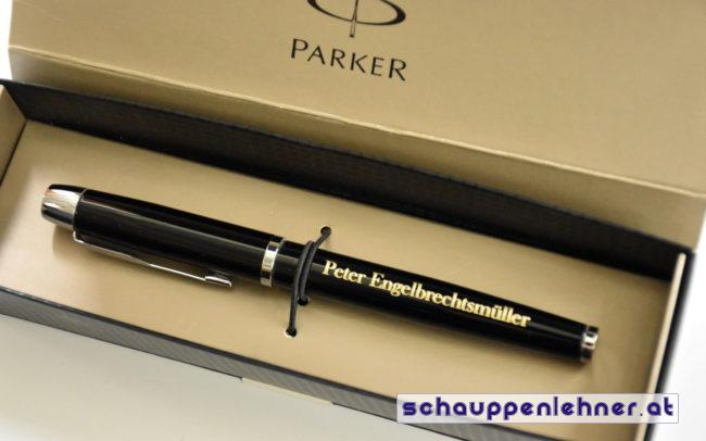 Gravierter Kugelschreiber Engelbrechtsmüller