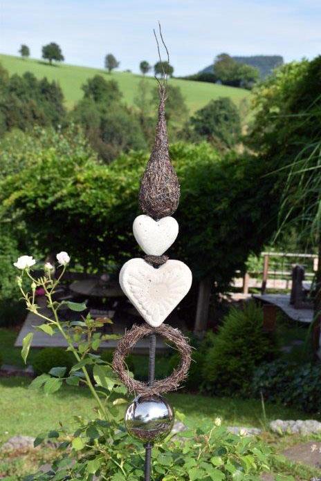Dekostecker für den Garten