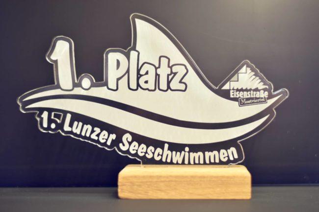Lunzer Seeschwimmen Acrylglas-Pokal